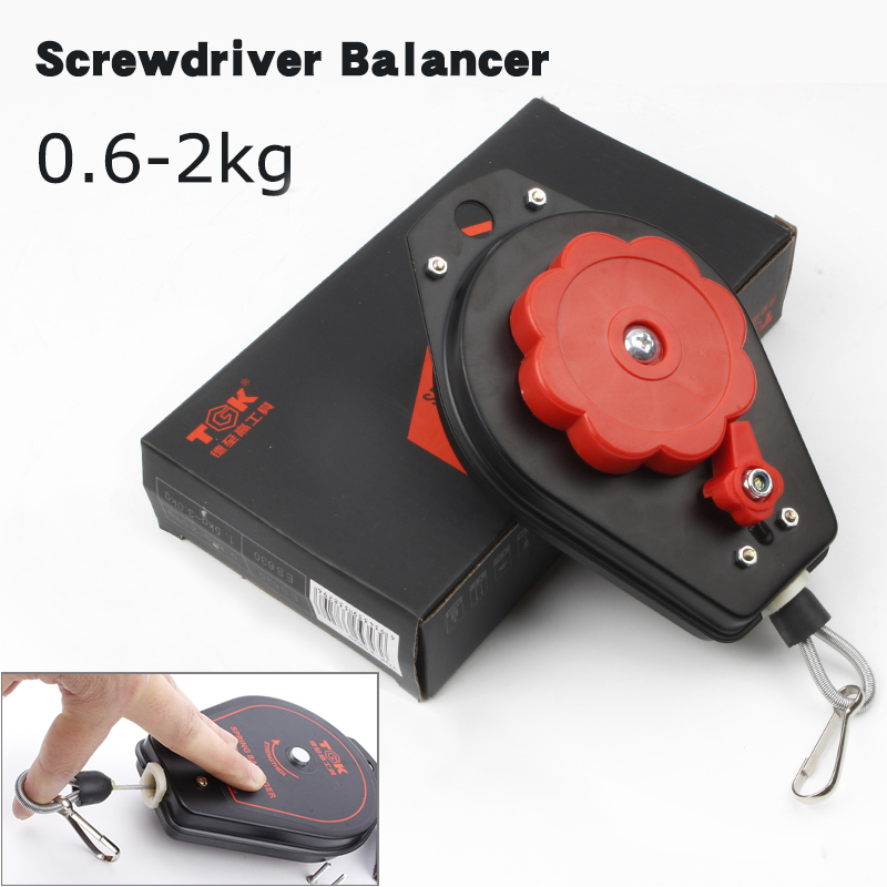 цены ES620 electric screwdriver ring screwdriver balancer 0.6-2kg spring balancer,Hanging Retractable Screwdriver Hanging Torque 3KG