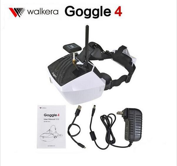 Original Walkera 5.8G 40 ch canais Goggle4 Goggle 4 FPV transmissão de imagens de Vídeo FPV óculos óculos com antena