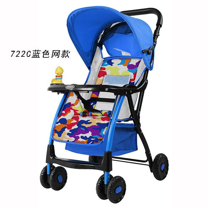 Super lightweight stroller  can lie can sit and  can be folded folding summer baby umbrella car aulonstrollers can sit lie lightweight portable folding baby four summer and winter pocket umbrella stroller free shipping