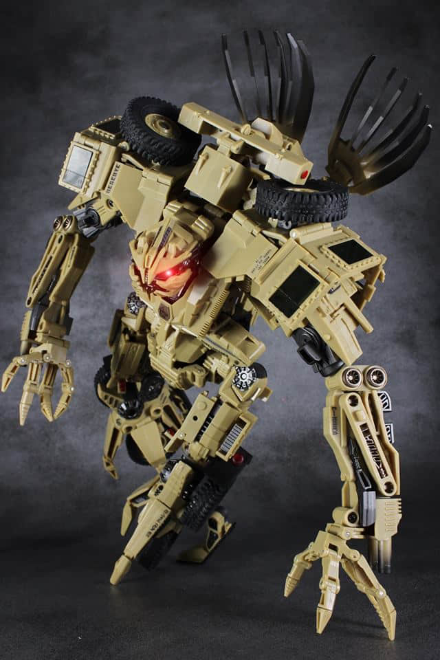 TF Robot Toys Transformation GOD 09 GOD09 Bonecrusher Movie Leader Class Action Figure Collection Kids Gift