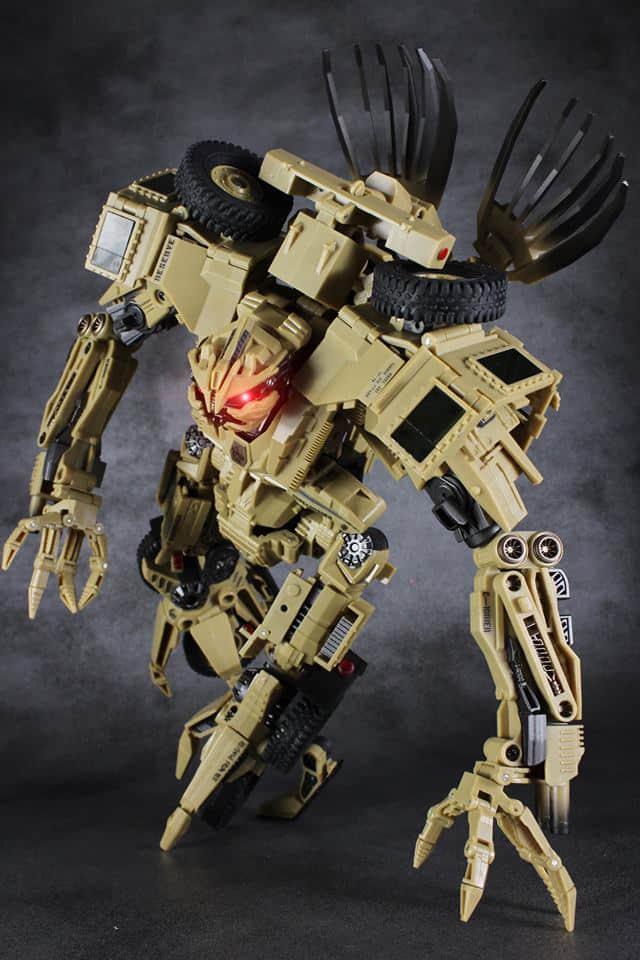 Oyuncaklar ve Hobi Ürünleri'ten Aksiyon ve Oyuncak Figürleri'de TF robot oyuncaklar Dönüşüm TANRı 09 GOD09 Bonecrusher Film Lideri Sınıf Action Figure Koleksiyon Çocuklar Hediye'da  Grup 1