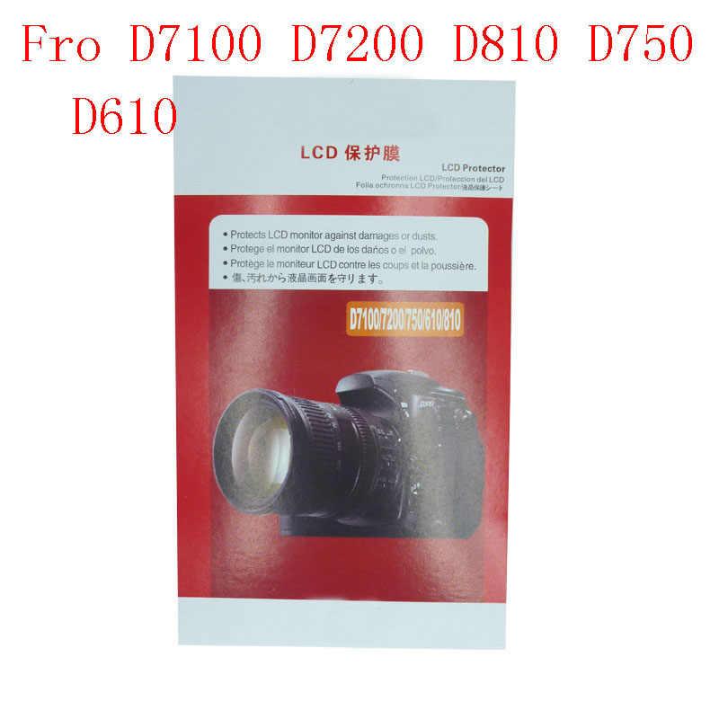 2 قطعة لينة كاميرا شاشة طبقة حماية لنيكون D3200 D3400 D3500 D3300 D5300 D5500 D5400 D7100 D7200 D810 D750 D610