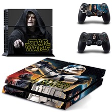 Movie Star Wars PS 4  Sticker PS4 Skin for Sony PS4 PlayStation 4 and 2 controller skins
