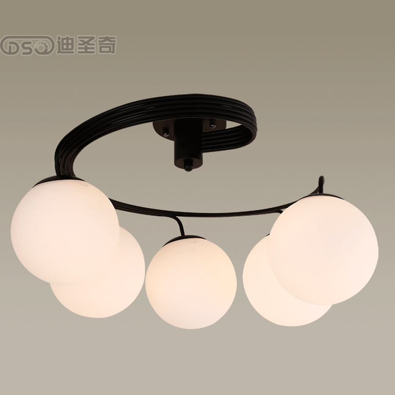 ФОТО Creative Simple-Style Ceiling Light for Living-room, Nordic Modern-Style LED Light for Bedroom