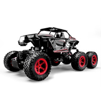 Red Rc Car Metal Rc Toys Electronic Off Road Truck Rc Vehicle Vehicle Model Climbing Vehicle