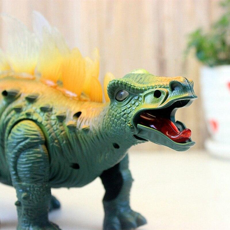 Electric Dinosaur Glowing Vocal Walk Walking Simulation Dinosaurs Kids Model Toy