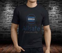 New Allsafe Cybersecurity Mr Robot Elliot Angela Men S Black T Shirt Size S 4Xl