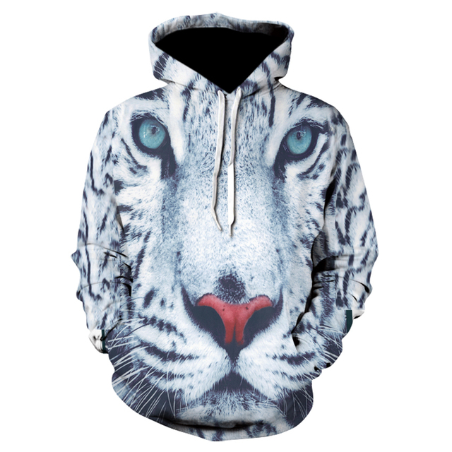 8a063de7e067 Tiger Hoodies Men Animal Sweatshirt Pocket Big Size Sweatshirts Hoddie 3d  Hoodies Hoodie 2018 Casual Streetwear Drop ship