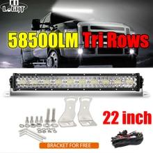 CO LIGHT 3 Rows 22inch LED Bar 390W Combo LED Light Bar for Car Tractor Offroad 4WD 4x4 Truck SUV ATV Driving Work Light 12V 24V
