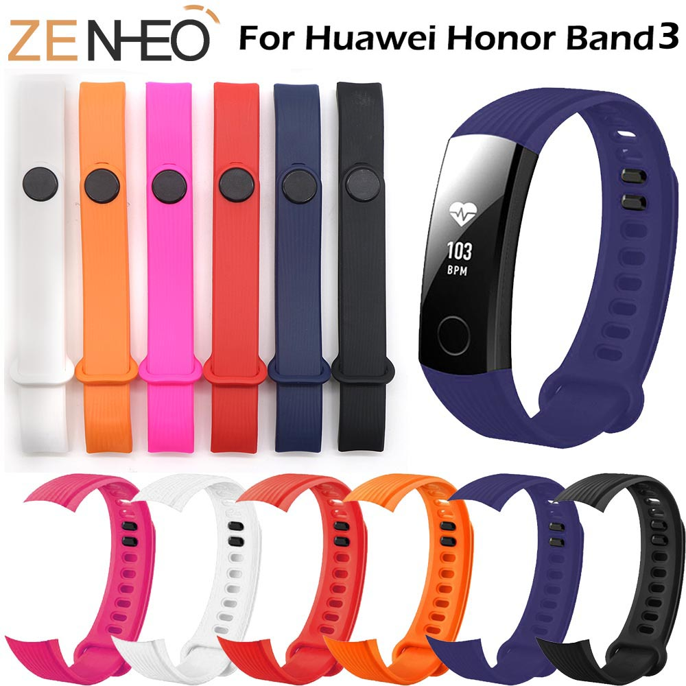 Sports Wrist Band Strap Bracelet For Huawei Honor Band 3 Smart Fitness Tracker Wristband For Huawei Honor Band 3 Watch Bands