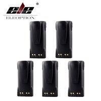 ELEOPTION 5PCS 7 4V 1300mAh Ni CD HNN9008A HNN9009A Battery For MOTOROLA GP320 GP338 GP360