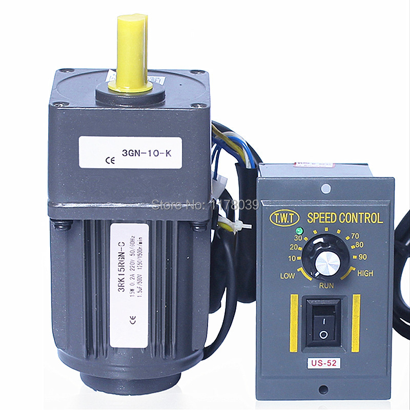 15w 220v ac gear motor electric motor variable speed On variable speed ac electric motor control
