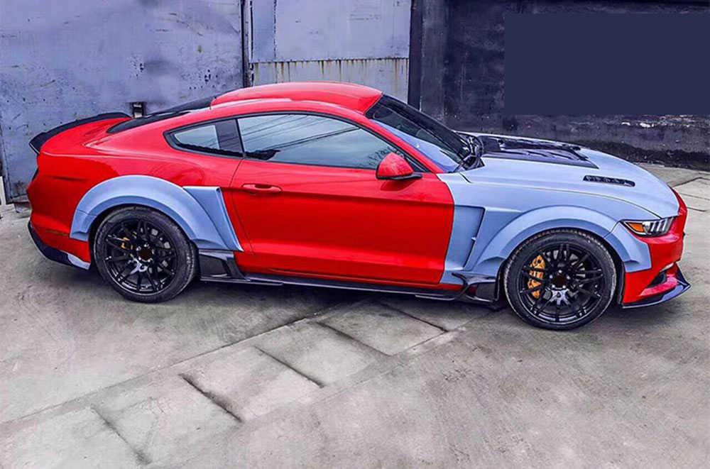 Тела Наборы переднего бампера Запчасти задний диффузор аксессуары для Ford Mustang Coupe 2015-2017