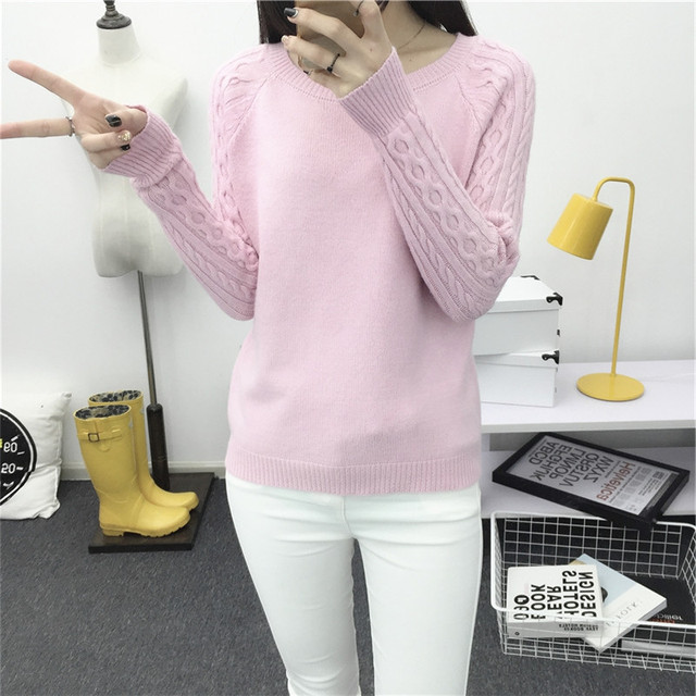 Women O neck Pullover Sweater