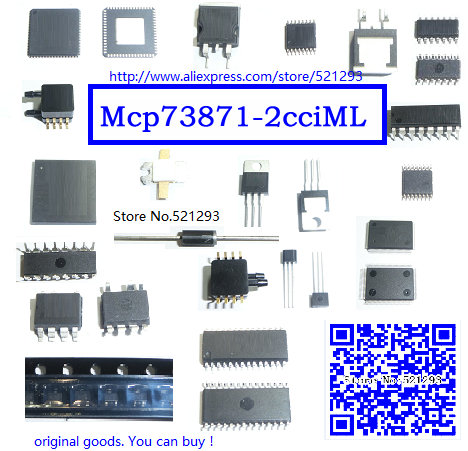 Mcp73871-2cci / ML usb, / Ac batt, Chrgr W / PPM 20QFN MCP73871-2CCI 73871 MCP73871 3PCS/LOT