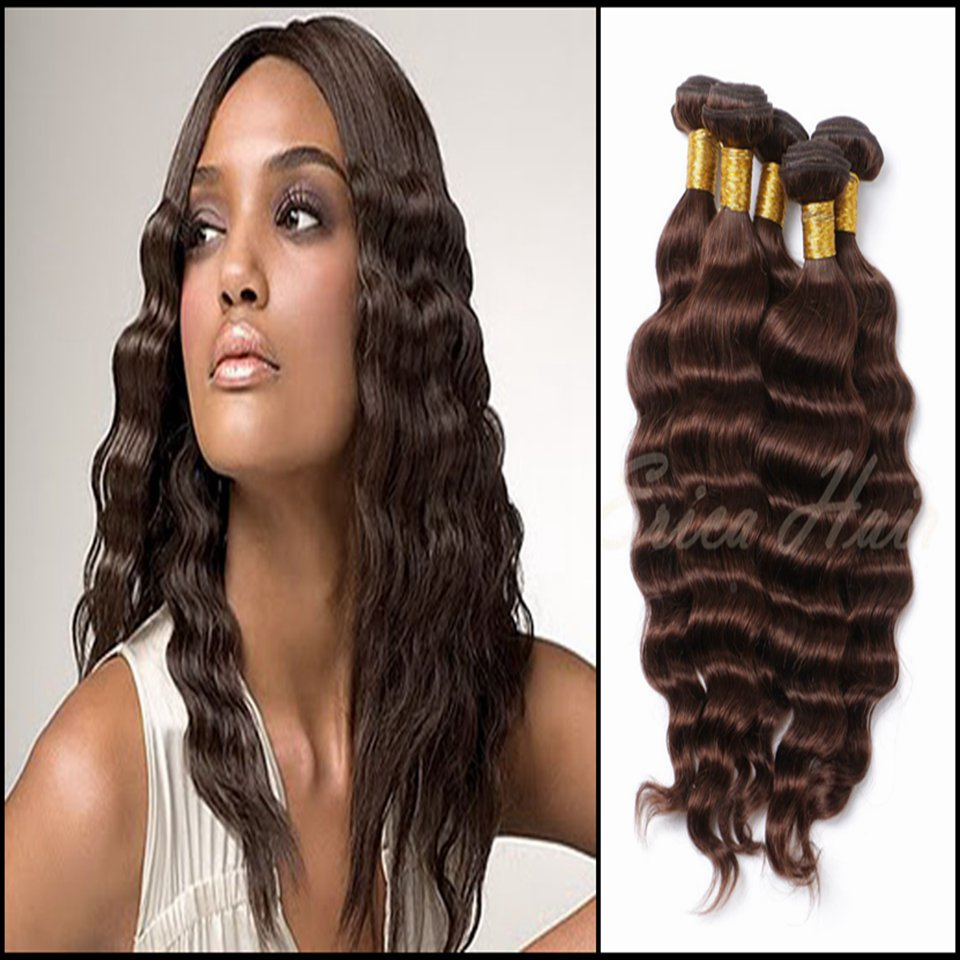 2016 Hot sales <font><b>Too</b></font> quality 100g/piece 3pcs Erica Indian virgin hair <font><b>Deep</b></font> wave Human hair Weave pure color hair weft <font><b>in</b></font> stock