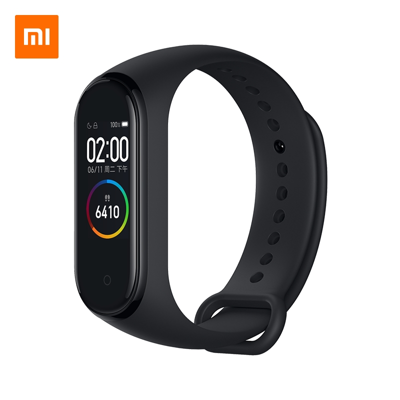 Xiaomi Mi Smart Band 4 Wristband 0 95inch AMOLED Color Screen 5ATM Waterproof Bluetooth 5 0