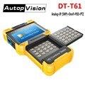 Envío libre DT-T61 4.0 pulgadas HD combine tester IP Cámara probador CCTV tester Monitor soporte ONVIF/Poe/485 PTZ control/OSD