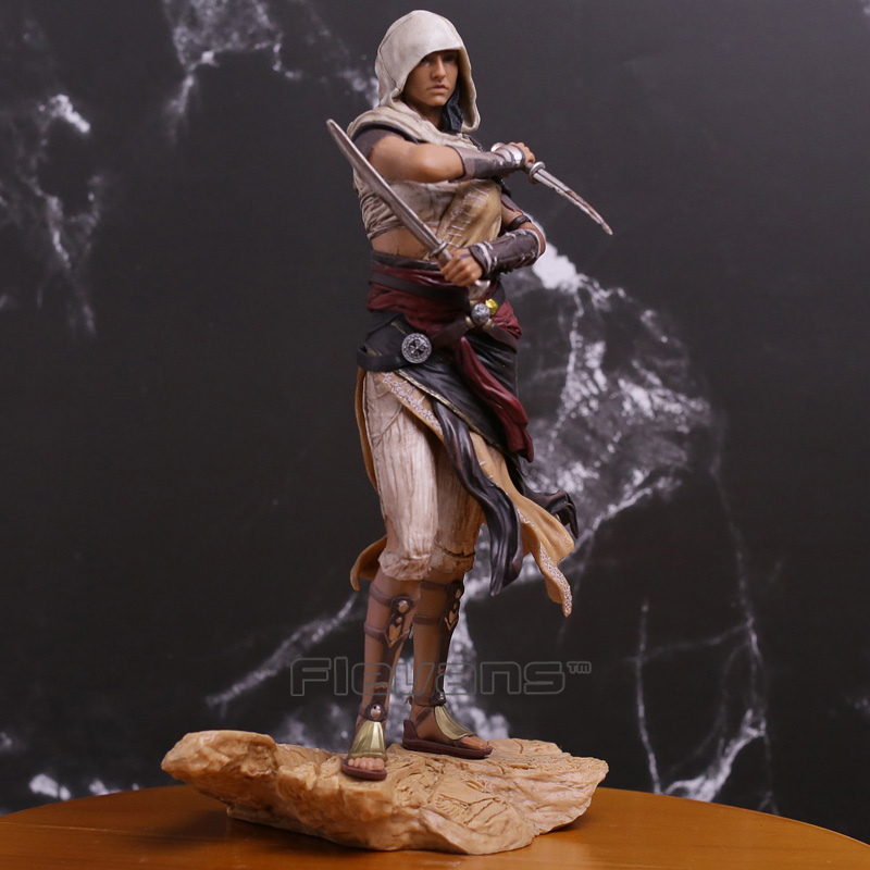 Assassins Creed Origins Character Aya PVC Statue Figure Collectible Model Toy assassins creed origins aya pvc figure collectible model toy 22cm