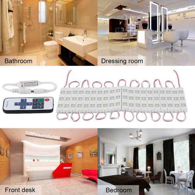 ICOCO LED Spiegel Licht 12 Watt 3 mt Wandleuchte Badezimmer ...