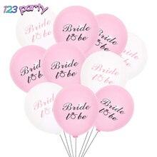 Bachelorette Party Balloon Party-Decoration Pink Wedding-Engagement 10pcs/Lot 10inch