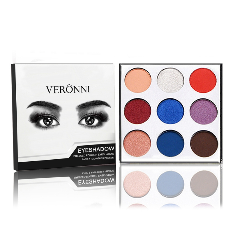9Colors Eye Shadow Palette Natural Shimmer Matte Eyeshadow Powder Brand Professional Eyes Makeup Pallete Maquiagem 14
