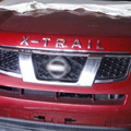Car Styling Engine Hood 3D Logo Emblem ''X-TRAIL'' Letters Sticker for X-trail T31 T32 T30 Rogue Xtrail 2016 Accessories