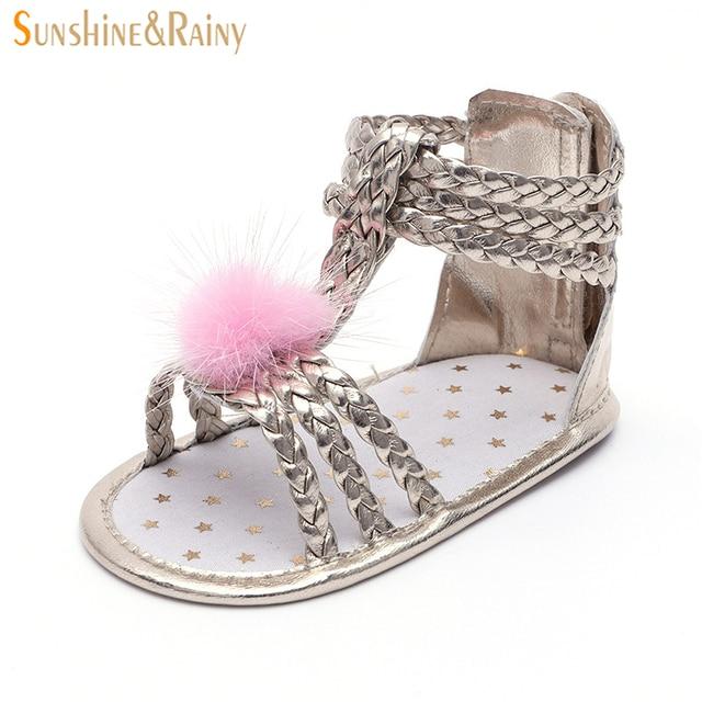 342d147b03a6 Sunshine   Rainy Baby Shoes Princess Girls Sandals Toddler Girl Gladiator  Sandal Infant Kids Summer Footwear