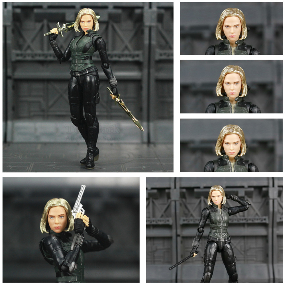 Marvel Avengers Infinity War Black Widow 6