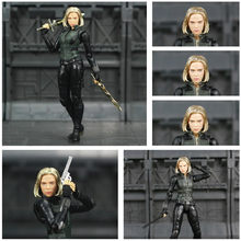 "Infinito Guerra Marvel Avengers Black Widow 6 ""Movie Action Figure Endgame Scarlett Johansson Lendas Boneca KO SHF Brinquedos(China)"