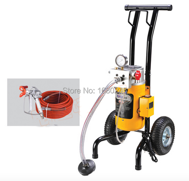 Heavy duty powerful diaphragmatic electric paint airless paint sprayer M819 B with spray gun nozzle tip 517/519 extend pole