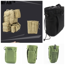 Outdoor Molle Ammo Pouch Pack Tactical Gun Magazine Dump Drop Reloader Pouch Bag Utility Hunting Rifle Magazine Pouch