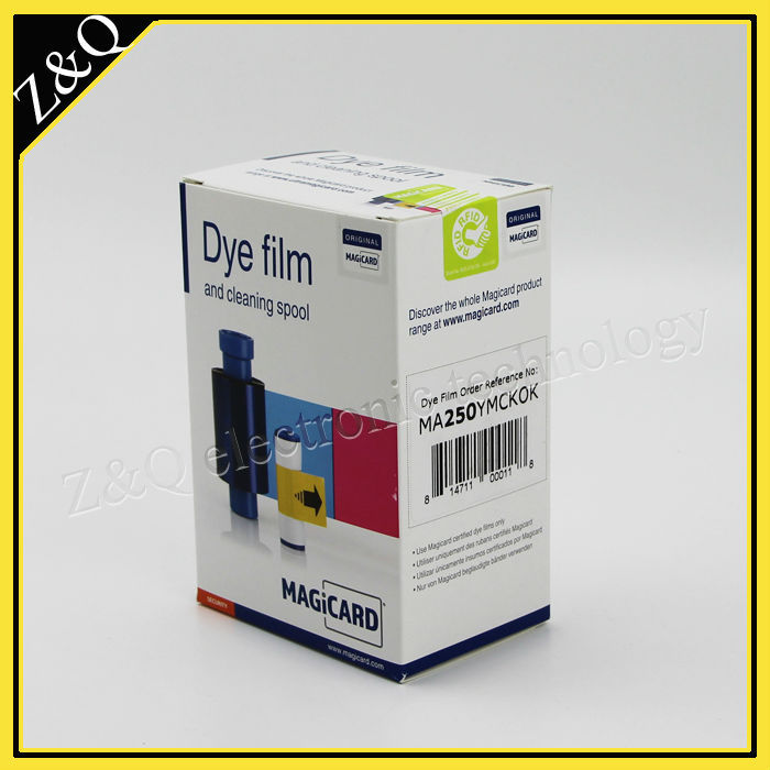 Original Magicard MA250 YMCKOK Color Ribbon for use with Magicard Enduro and Rio Pro id card printers - YMCKOK - 250 prints