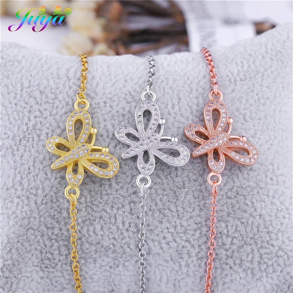 Aliexpress Drop Shipping Custom Bracelet Gold Silver Rose Gold Charms  Butterfly Bracelet For Women Wedding Party Gift Jewelry f5a48b43aa2b
