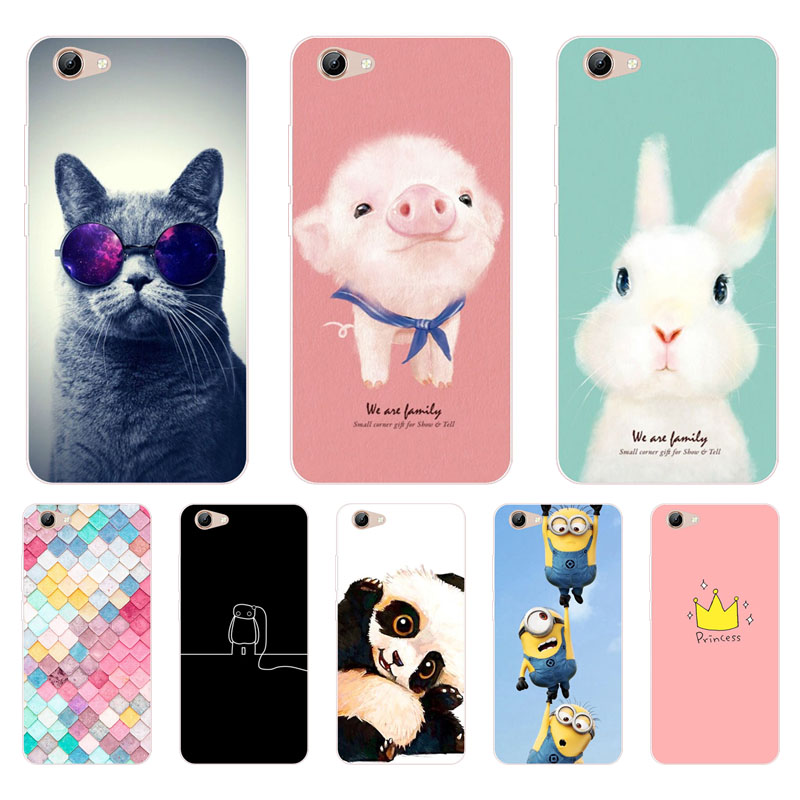 86656819291 ₪for vivo y71 Case,Silicon Painted animals Painting Soft TPU Back ...