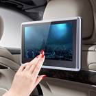 """New 10"""" HD Digital LCD Screen Car Headrest Monitor DVD USB SD Player IR/FM with Remote Controller Remote Mount Bracket ME3L"""