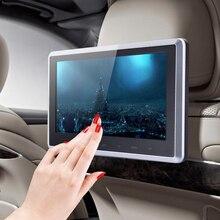 Новый HDMI 10 «HD Цифровой ЖК-Экран Подголовник Автомобиля Монитор DVD Плеер USB SD ИК/FM с Пульта дистанционного управления Пульт Дистанционного Управления Кронштейн ME3L