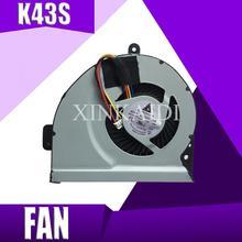 XinKaidi новый процессор Охлаждающий вентилятор для ASUS X54H A54L X53S K53S A53S K53SJ P53SJ K43X K43E K43S K43SJ A83 A84S X84C K84L KSB06105HB
