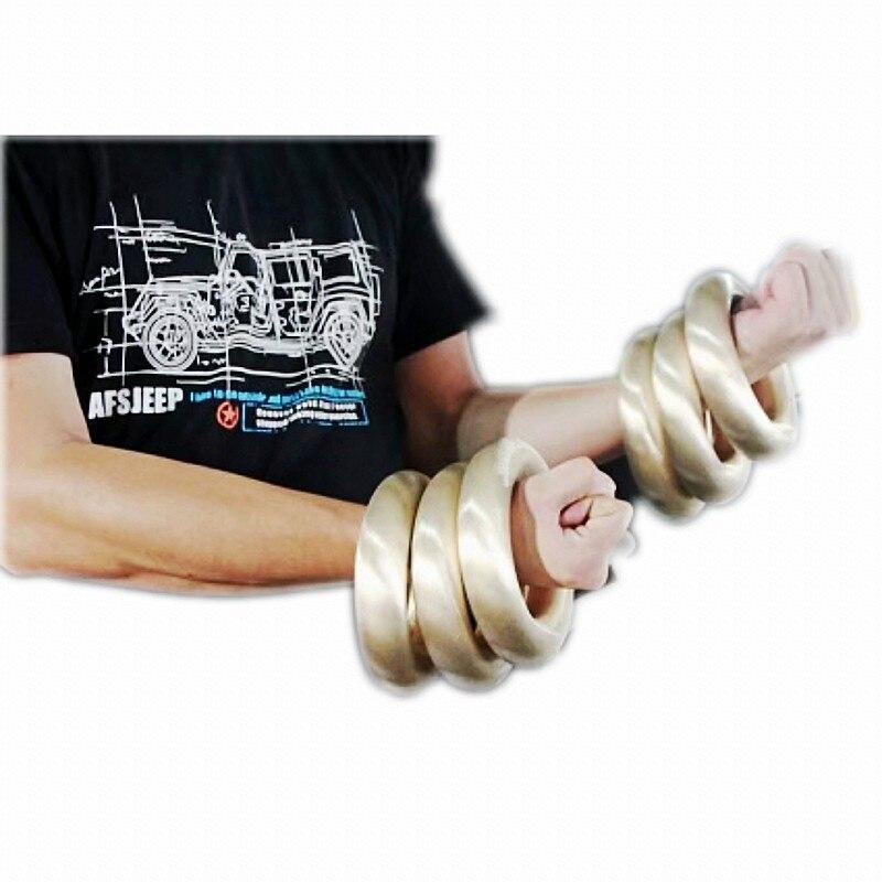 Heerlijk Zware Wushu Metal Onderarm Training Ringen Hong Quan Ijzeren Ringen