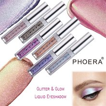 PHOERA 2019 Brand New Eye Shadow 12 Color Makeup 1pc Magnificent Metals Glitter and Glow Liquid Eyeshadow