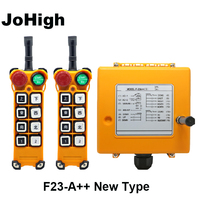 JoHigh industrial Hoist wireless Crane Radio Remote switch 315MHZ F23 A++ New Type
