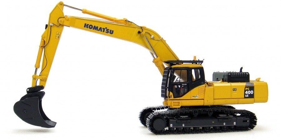 uh8026 1 50 komatsu pc400 lc excavator toy in diecasts. Black Bedroom Furniture Sets. Home Design Ideas