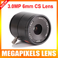 "New 1/2.5"" 3.0 MegaPixel IR F1.4 CS Mount 6mm 46.1 Degree IR Fixed Lens for Box Bullet CCTV HD CCTV IP Camera/HDCVI/SDI Camera"