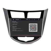 2DIN android 5.1 estéreo del COCHE para Hyundai Solaris Verna I25 Radio headunit GPS de Radio Reproductor de Vídeo de pantalla WIFI gratuito mapa