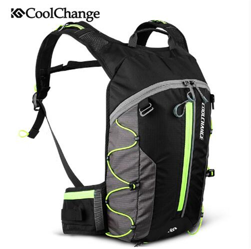 CoolChange Bike Bag Ultralight Waterproof Sports Breathable Backpack Bicycle Bag Portable Folding Water Bag Cycling Backpack cycling multi function outdoor sports backpack bike bag 22l motorcycle rucksack backpack bag with waterproof rain cover