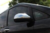 Lapetus Chrome Door Rearview Mirror Decoration Cover Trim Exterior Refit Kit Fit For Mercedes-Benz Vito W447 2014 - 2018 ABS
