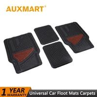 Auxmart Car Mats Floor Carpet Universal Auto Sedans SUVs Vans Car Floor Mat Carpets Waterproof for Lada UAZ Kamaz Izh GAZ Seat
