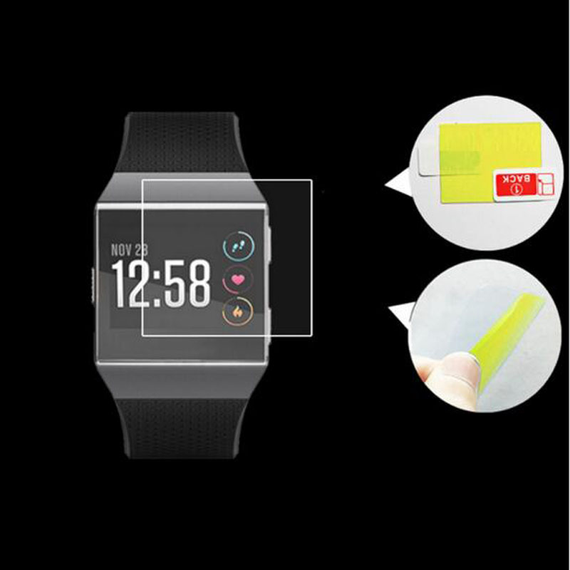 2pcs Anti-scratch Soft TPU Ultra HD Clear Protective Film Guard For Fitbit Ionic Smart Watch Full Screen Protector Display Cover