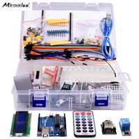 Miroad K12 Starter Learning Kits For Arduino With UNO R3 LCD Servo Motor Sensor AVR Starter