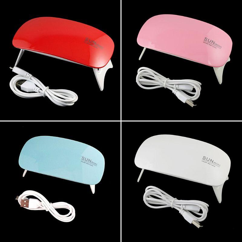 Epoxy Mold UV Ultraviolet Sunlight Curing Machine Nail Polish Dryer Baking Lamp Tools USB Interface Nails Phototherapy Machines